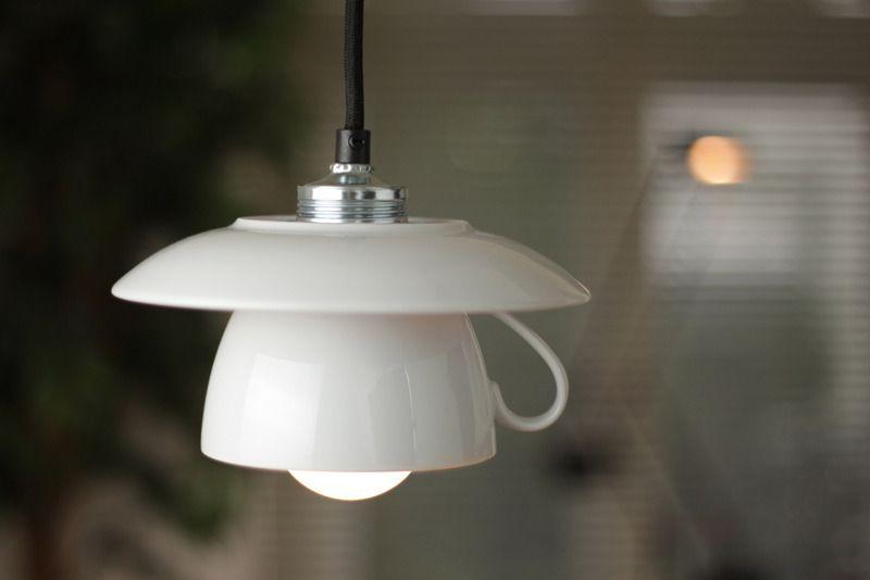 Hängelampen - Hängelampe / Tassenlampe -Kabelfarbe nach ...