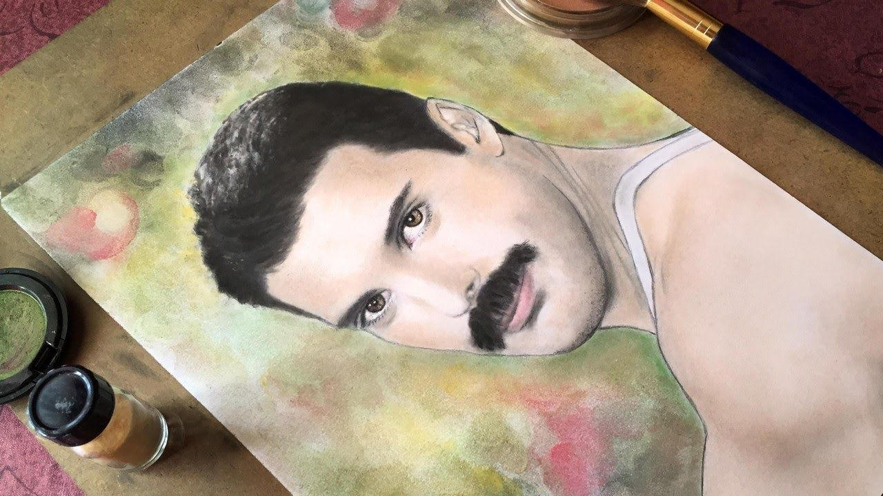 [Speed Painting] Freddie Mercury Drawing Made with