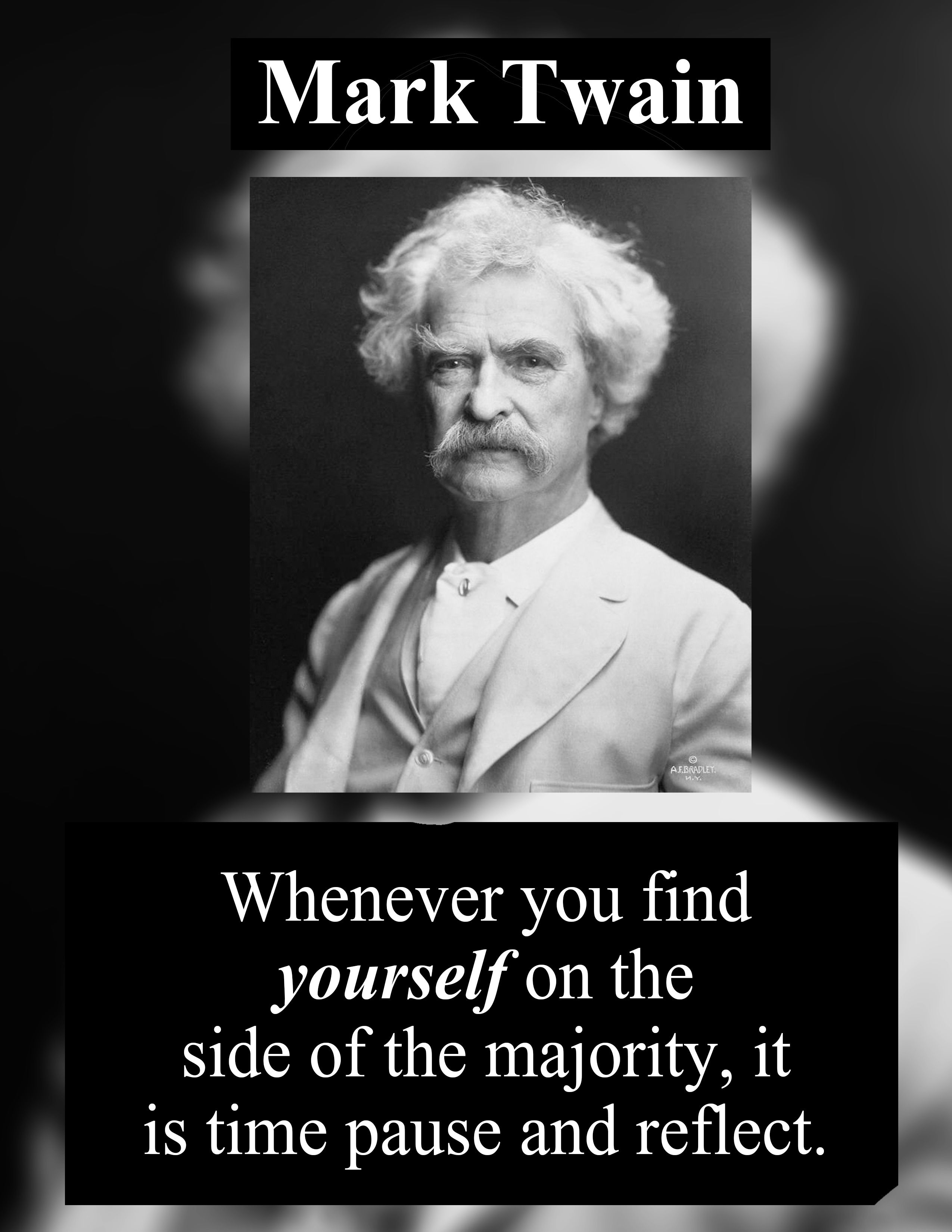 Mark Twain Quotes. Happiness, Friends, Life, & Books. Mark Twain Funny Inspirational Short Quotes