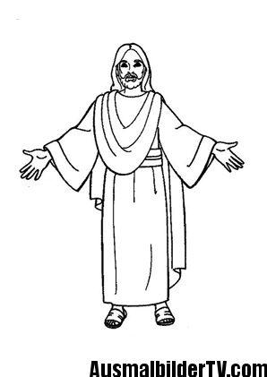 ausmalbilder über jesus | Malvorlagen | Pinterest | Ausmalbilder
