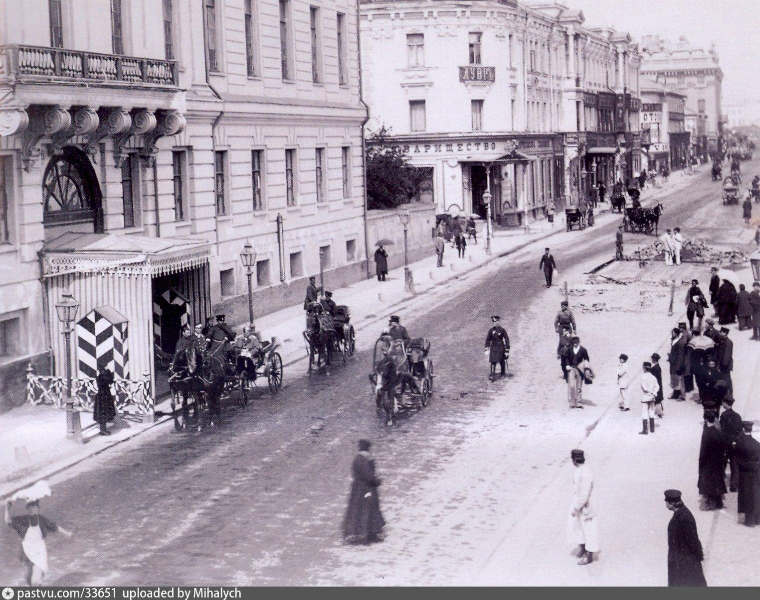 Старая Тверская улица | Старые фотографии, Фотографии и ...