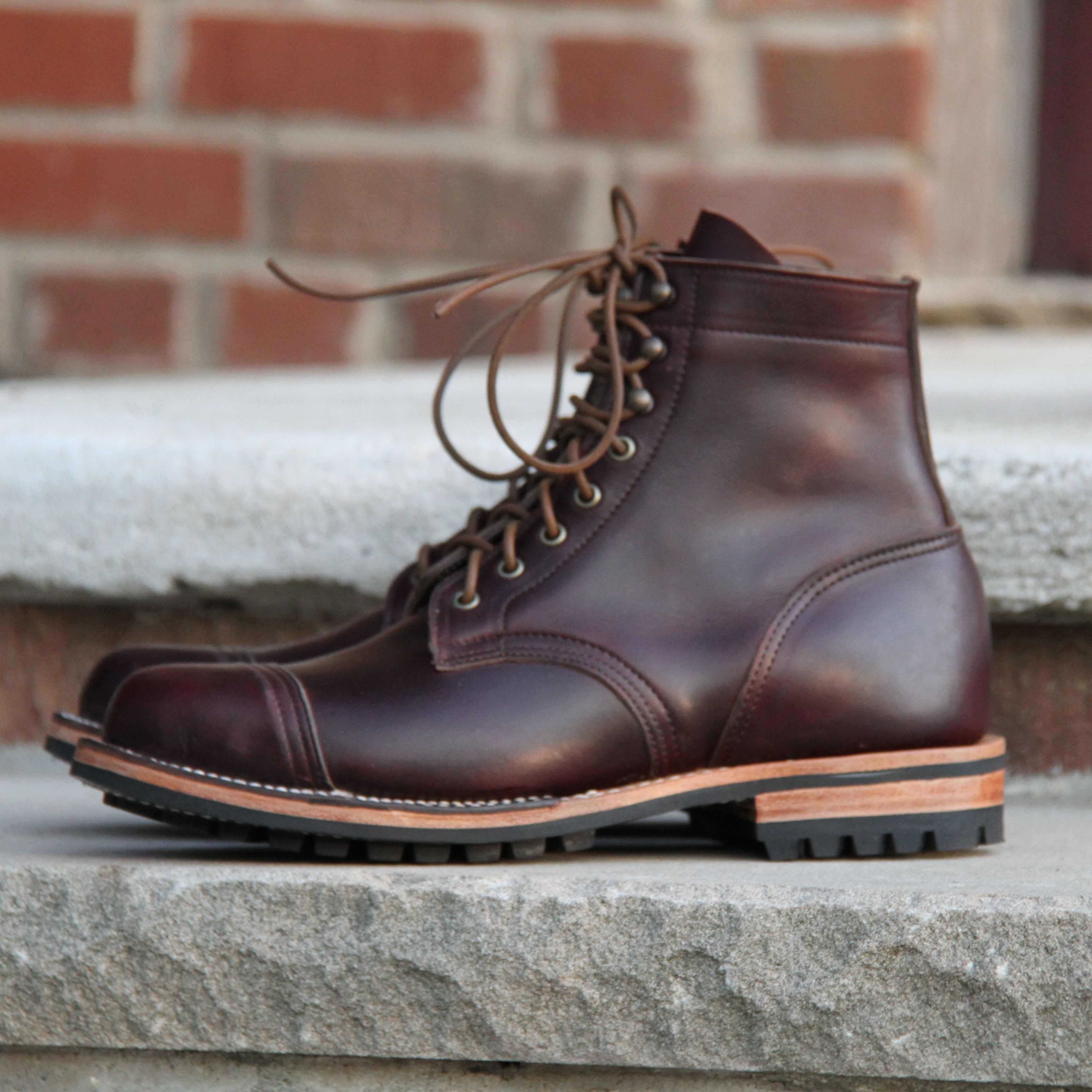 Truman Boot Co Color 8 Chromexcel From Horween Tannery In