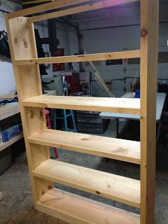 How To Make Your Own Bookcase This Is A 6 Foot Tall For