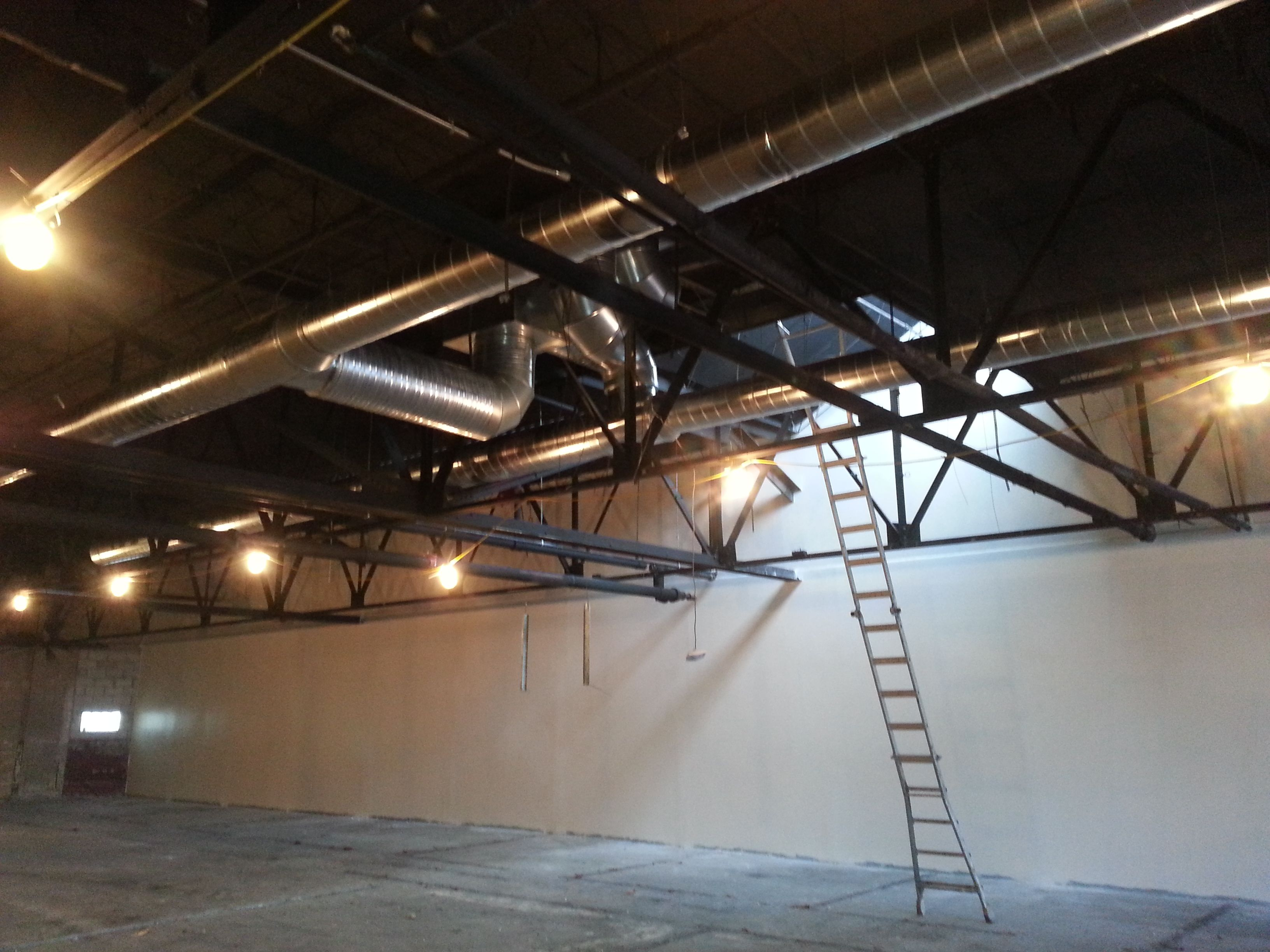 Commercial Spiral Duct Install East Side Milwaukee