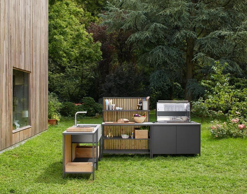 Outdoor Küchen Aus Holz : Outdoor küche holz boodeco findby