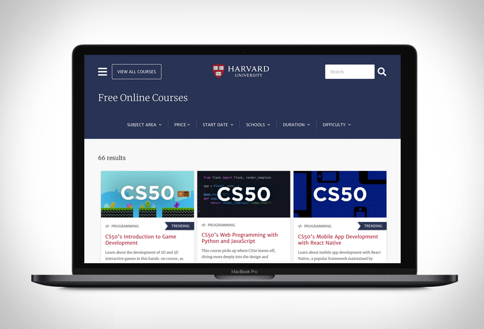 Harvard Free Online Courses in 2020 Free online courses