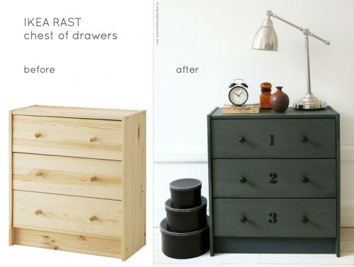 Teal Or Other Color Wood Stain On Unfinished Ikea
