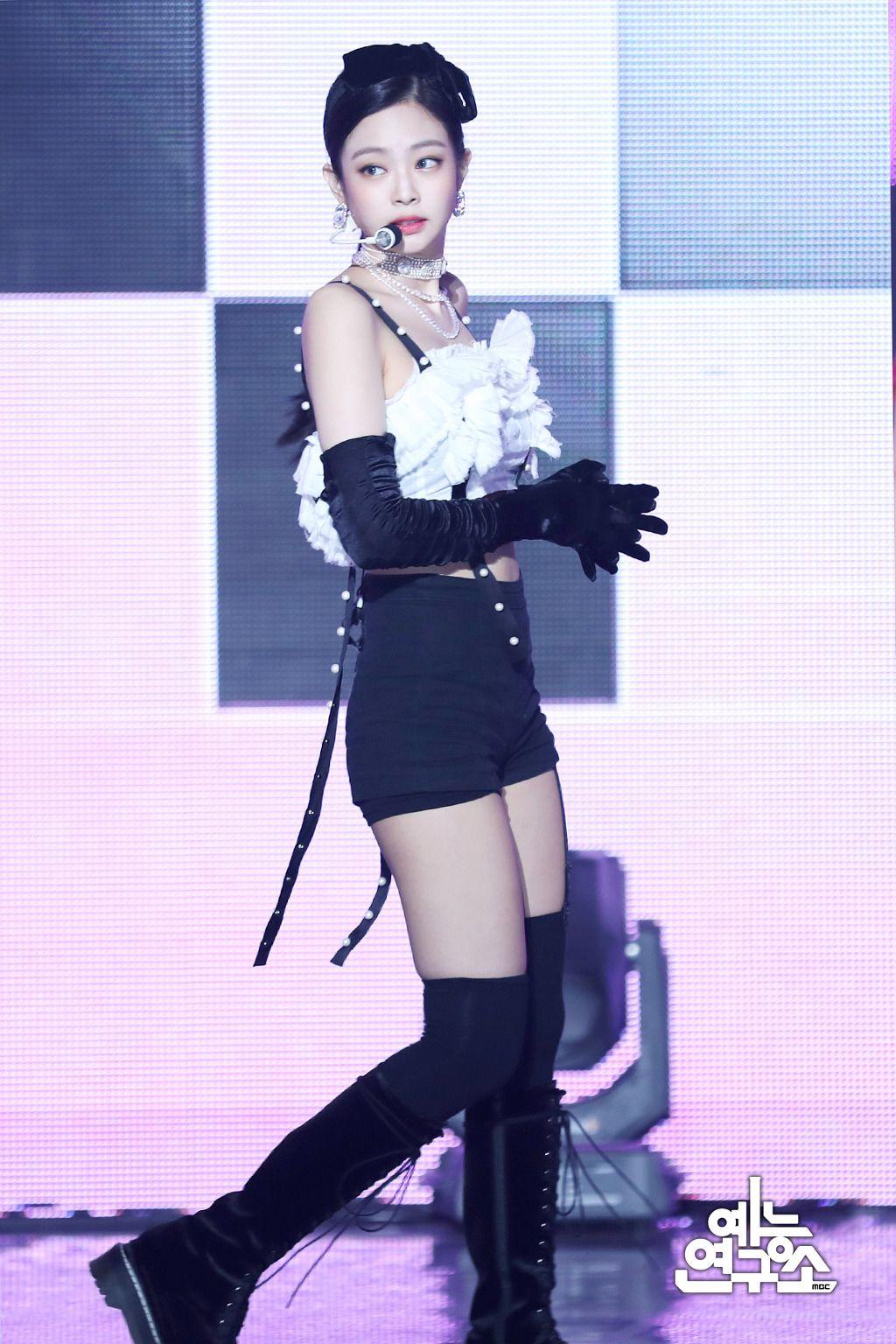 제니 섹시한 무대의상 무대 의상, 패션 스타일, 패션
