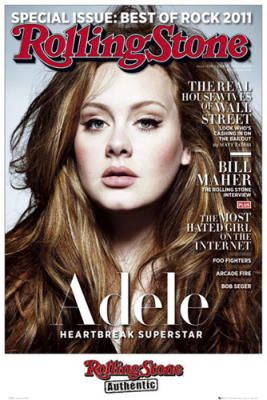 What can I say, she's a rare talent in modern day music where everyone else uses auto-tune and machines to make their voices sound perfect. Whereas, Adele just uses her voice that God blessed her with! Definitely a breath of fresh air for music purists everywhere