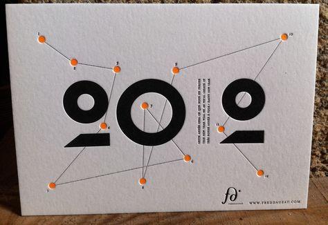 magnifique carte de voeux dauzat 1 graphic design carte de voeux carte de voeux graphique. Black Bedroom Furniture Sets. Home Design Ideas