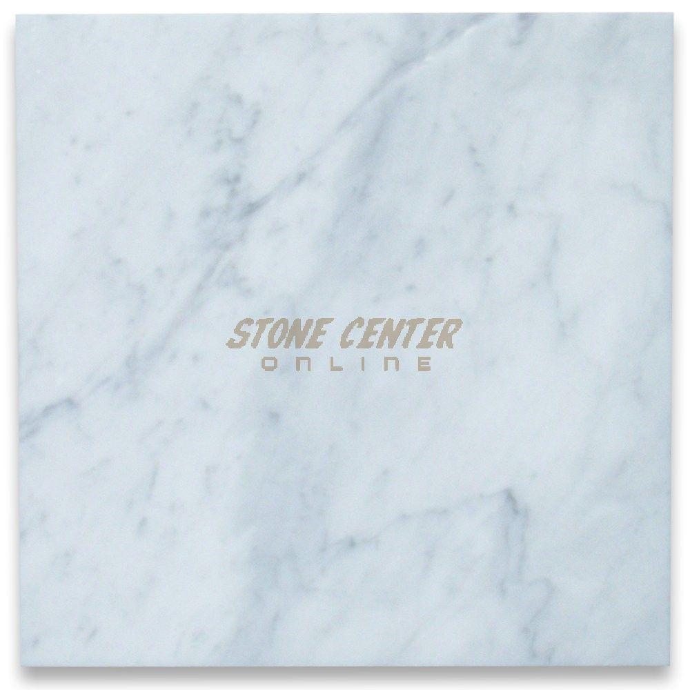 Carrara White Marble 12x12 Tile Polished Carrara White Marble Bathroom Shower Walls