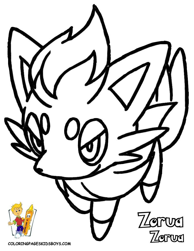 Pokemon Zorua Coloring Pages From The Thousand Photos On The Net In Relation To Pokemon Zorua Coloring Pokemon Coloring Pokemon Coloring Pages Coloring Pages