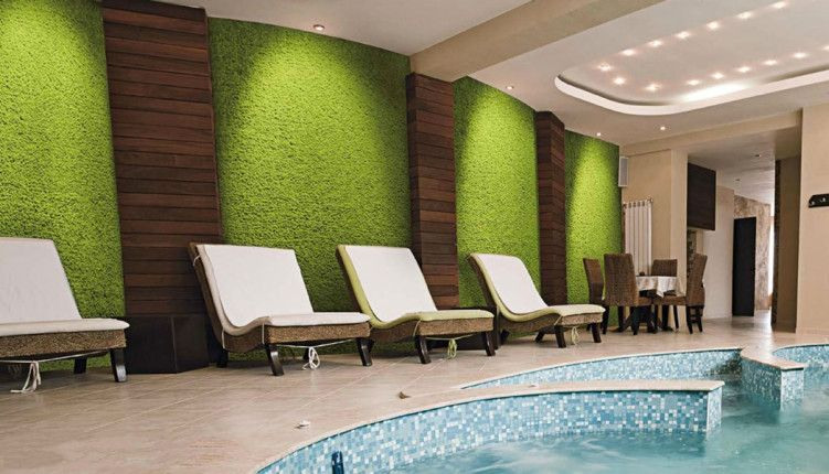 Bm lichene parete parete vegetale pinterest verde mobili e piante - Prato verticale per interni ...