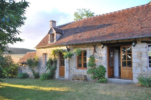 Maison en pierre  des bâtisses de charme - maison en bois et en pierre