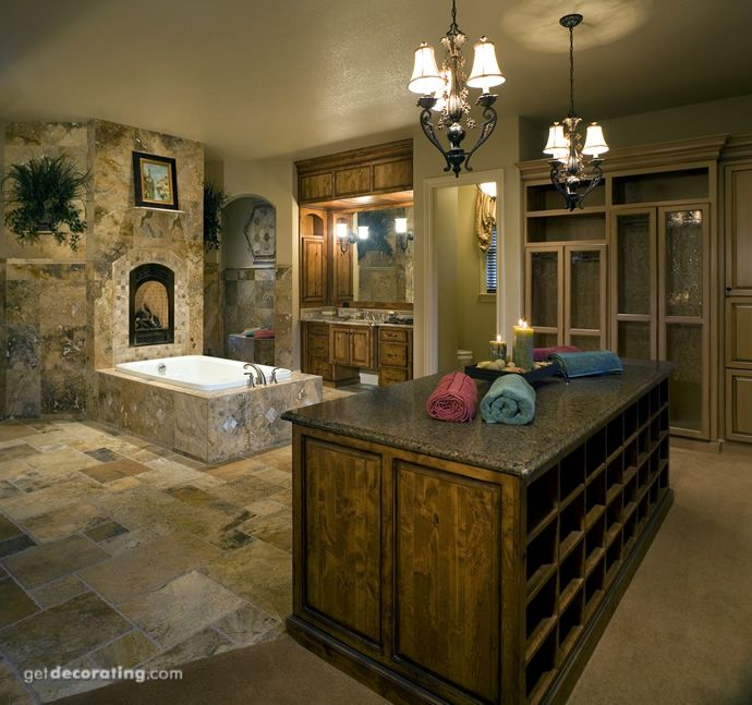 Master Bathroom And Walk In Closet Combo.....how Cool!