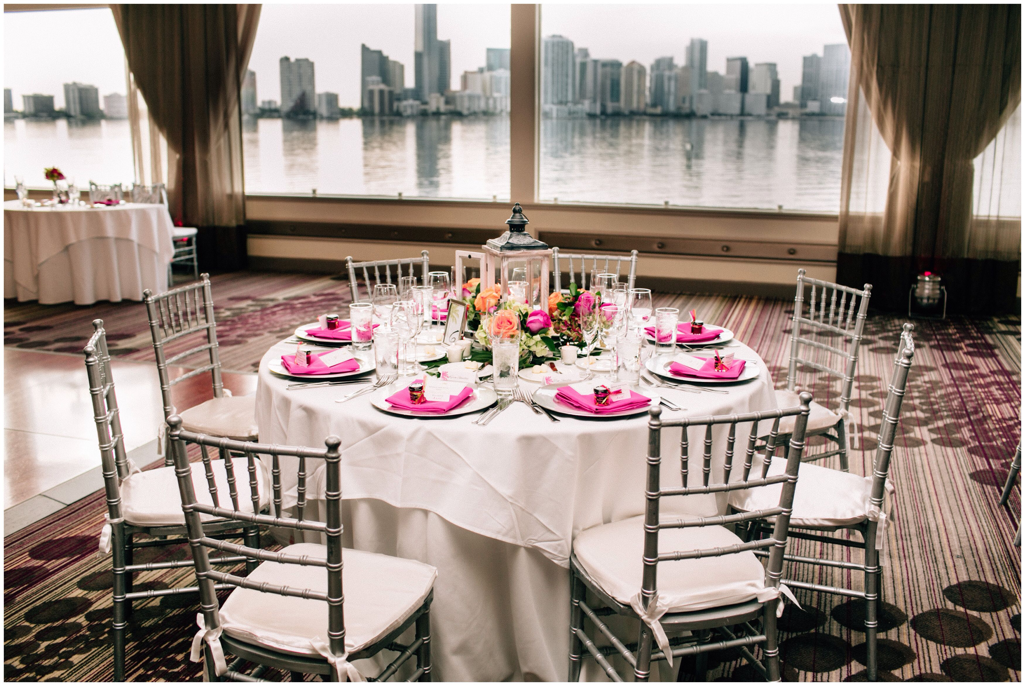 Our Beautiful Tables At Wedding In Miami Rusty Pelican Key Biscayne