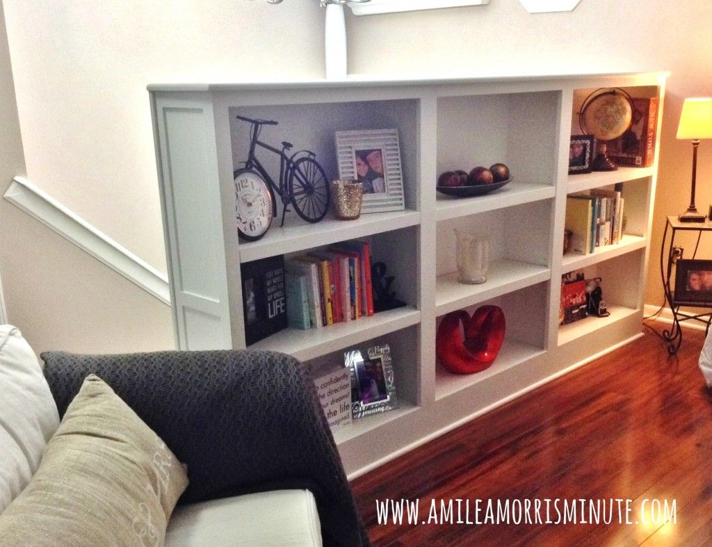 Best Stair Railing To Bookshelf Pretty Love Love Love 400 x 300