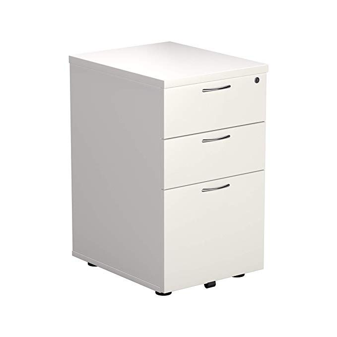Office Hippo Heavy Duty 3 Drawer Under Desk Pedestal Pre