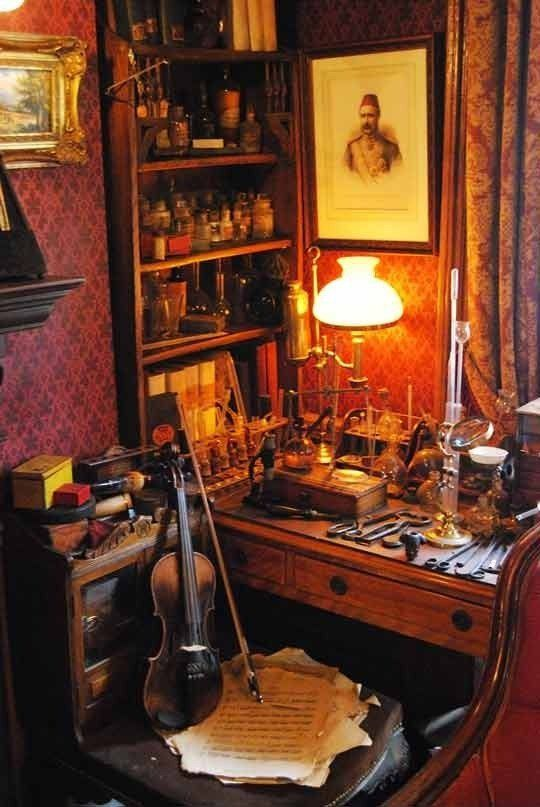 Reading the Sherlock Holmes mysteries, with their vivid attention to detail, it's hard to believe that Sir Arthur Conan Doyle's fictional detective never actually existed. His flat at 221B Baker Street in London, which he shared with his compatriot and biographer Dr. Watson, is central to much of the action.