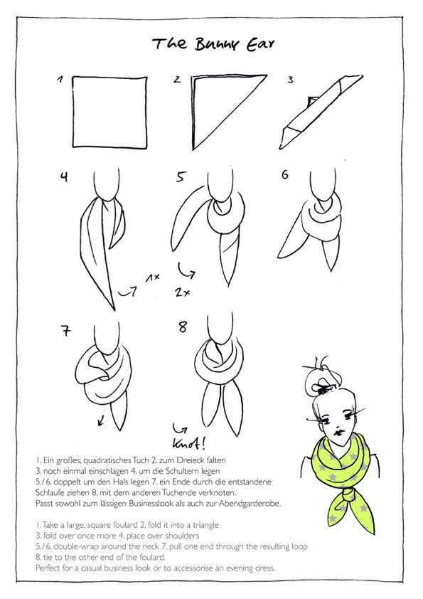The Bunny ear by Codello scarves