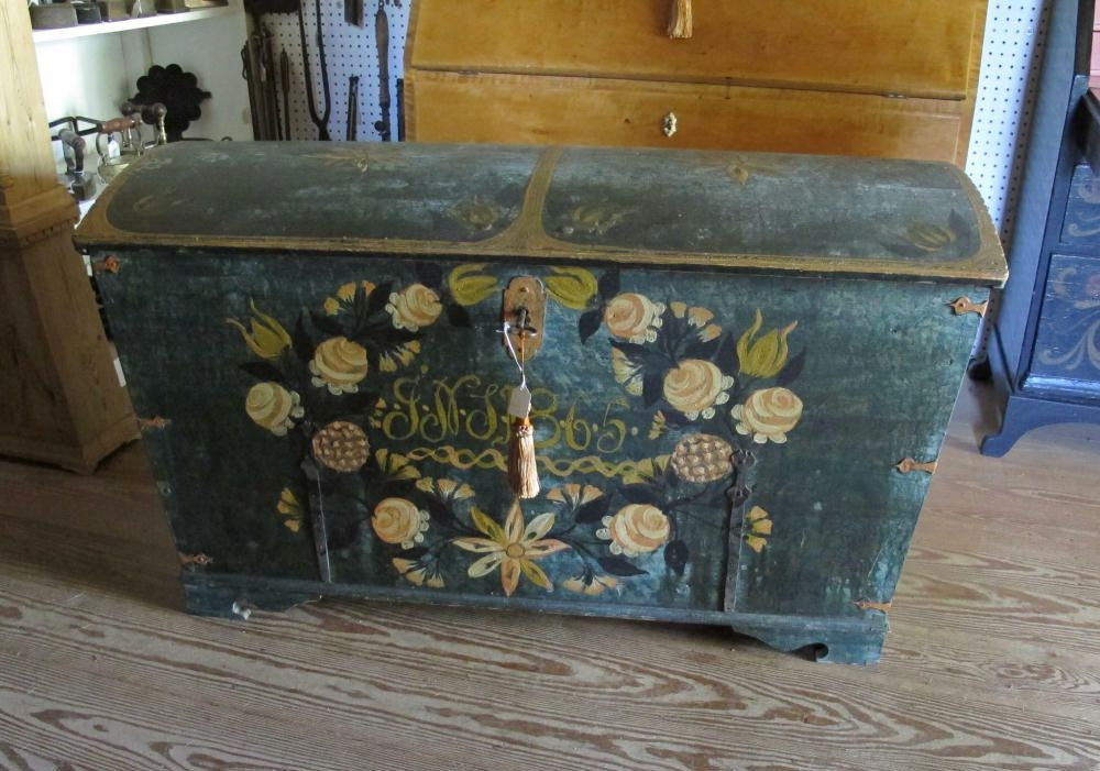 Pin By Elaine Daly On What I Love About Sweden Painted Trunk Nordic Furniture Swedish Furniture