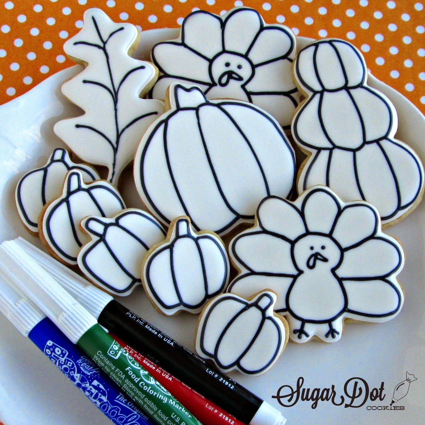Sugar Dot Cookies: thanksgiving | cookies | Pinterest | Thanksgiving ...