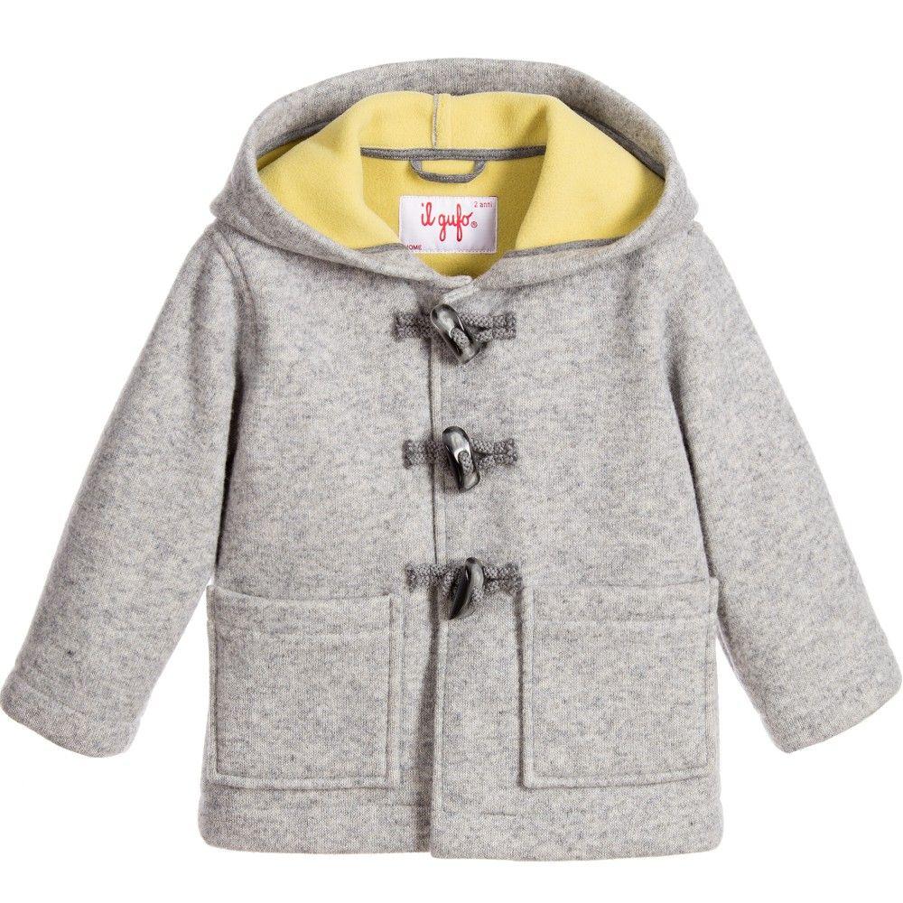 Boys Wool Duffle Coat Fashion Women S Coat 2017