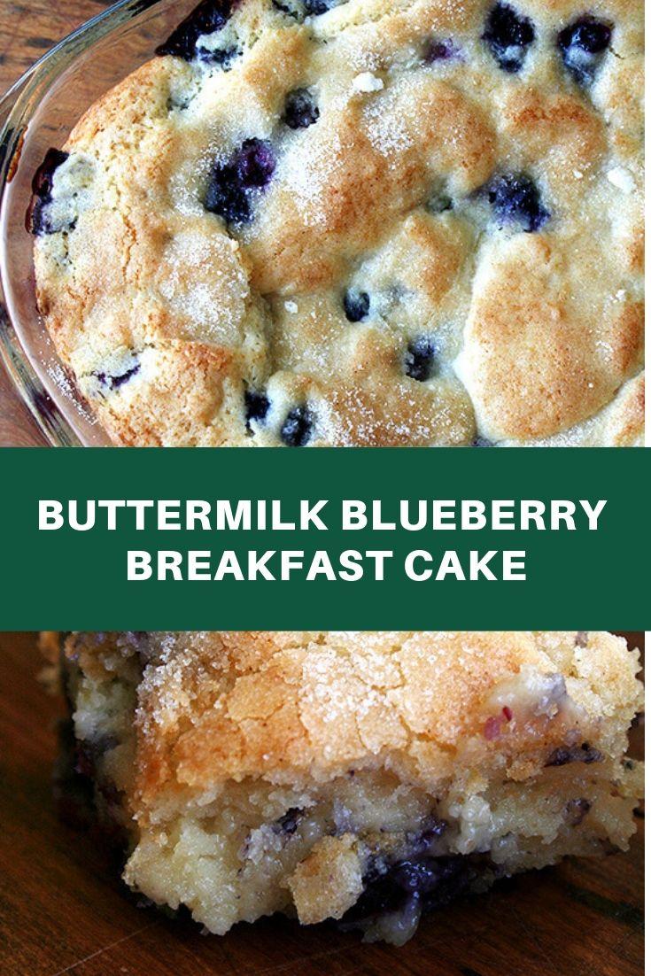 Buttermilk Blueberry Breakfast Cake  #buttermilkblueberrybreakfastcake