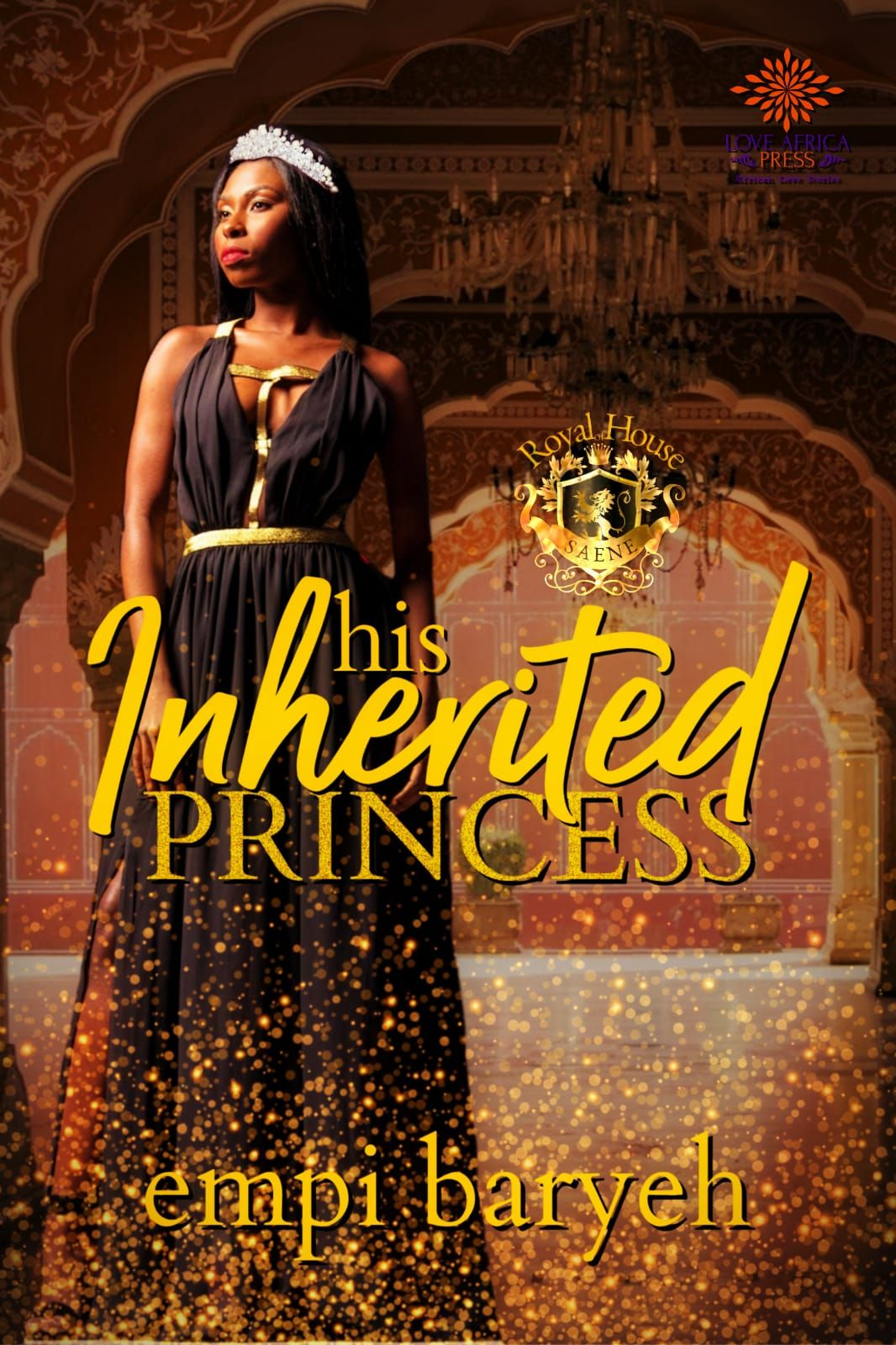 Cover Of His Inherited Princess By Empi Baryeh