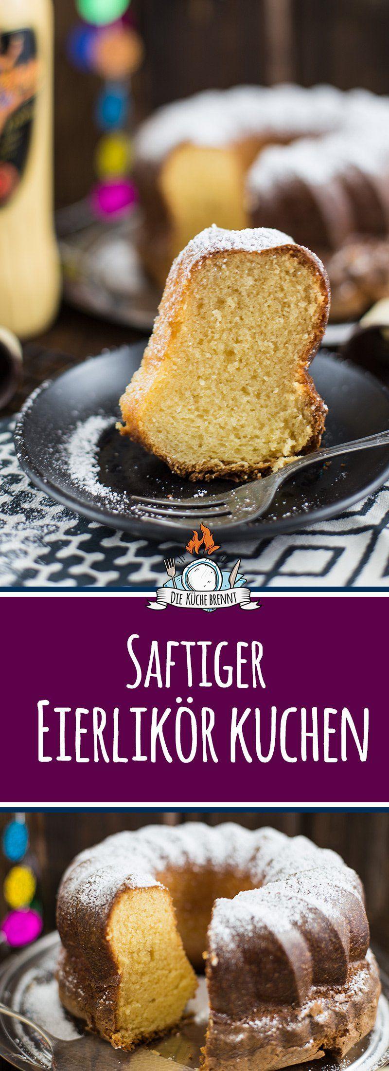 Saftiger Eierlikör Kuchen Rezept - klassische Variante (Rezept ala Oma) |  Rezept | Kuchen rezepte, Kuchen, Backrezepte kuchen