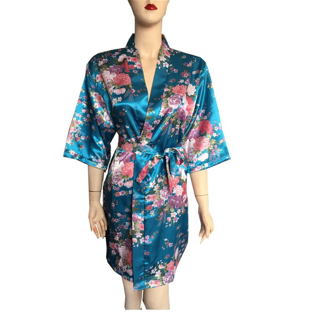 9d1ebaf4cc ... from China robe set Suppliers  Hot Sale 2015 New Women Stain Robes  Sleepwears Animal Kimono Pajamas Casual Bathrobe Long Sexy Nightgowns Plus  Size ...