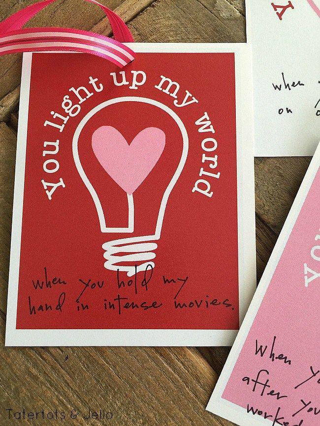Valentine you light up my world printables sweet messages valentine you light up my world printables sweet messages messages and lights m4hsunfo