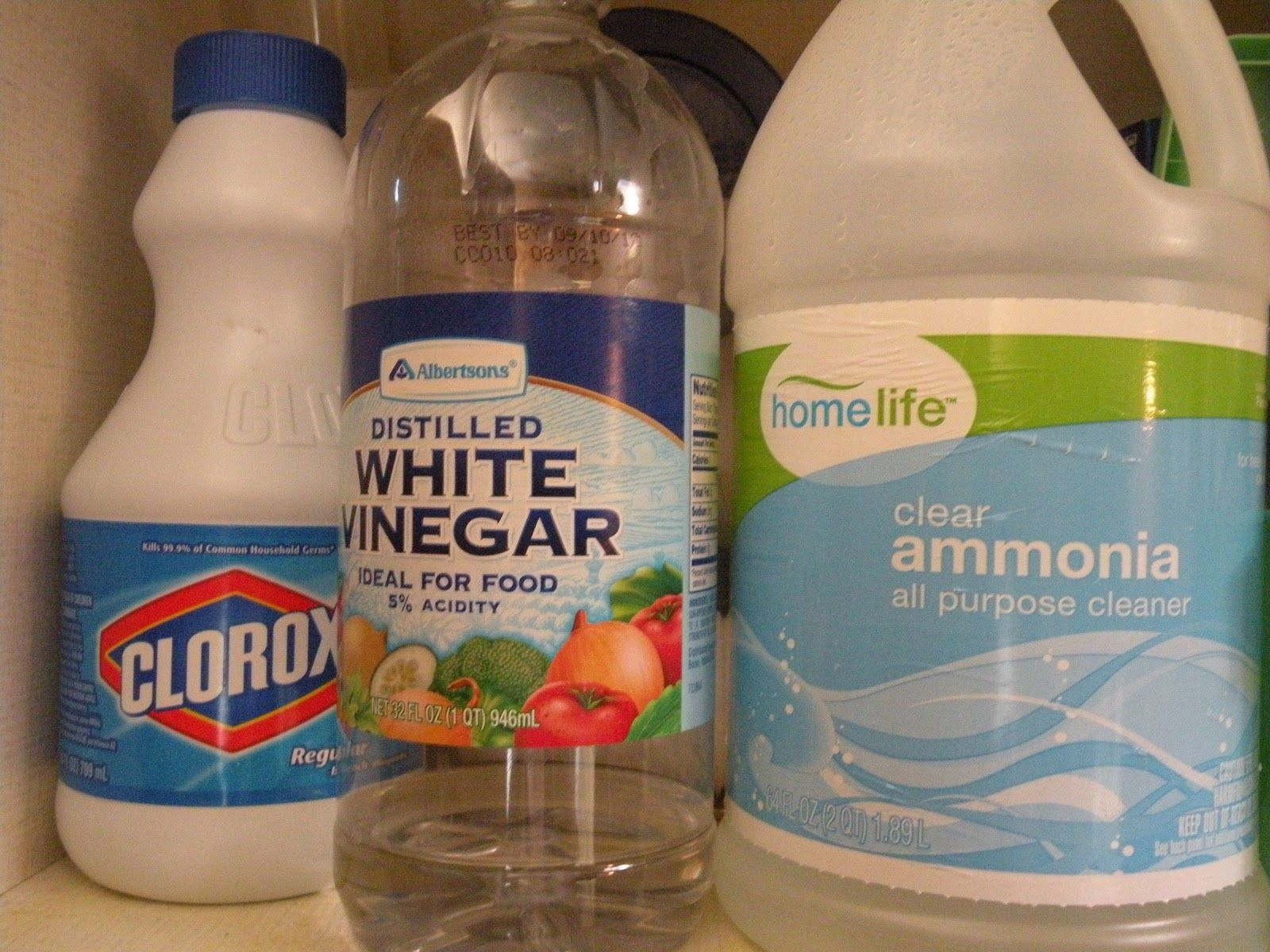 Fact Bleach And Ammonia Are Each Toxic Solutions That Can Burn