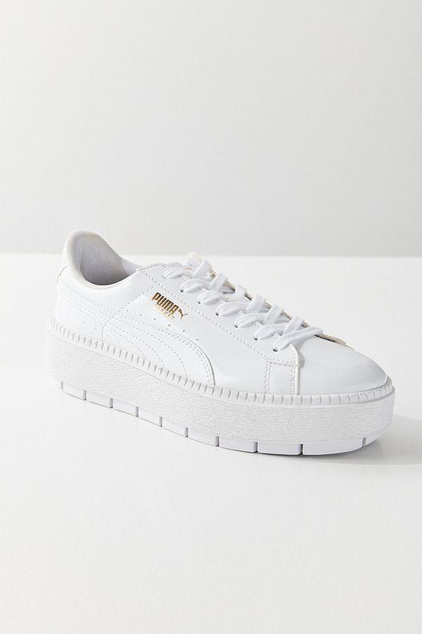71cc615883d0 Slide View  1  Puma Basket Platform Trace P Sneaker