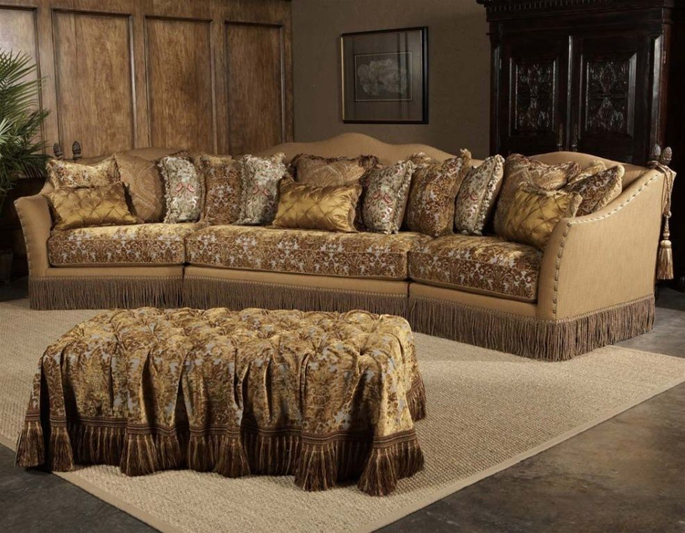 Sofa Chair Leather Fabric Sectional