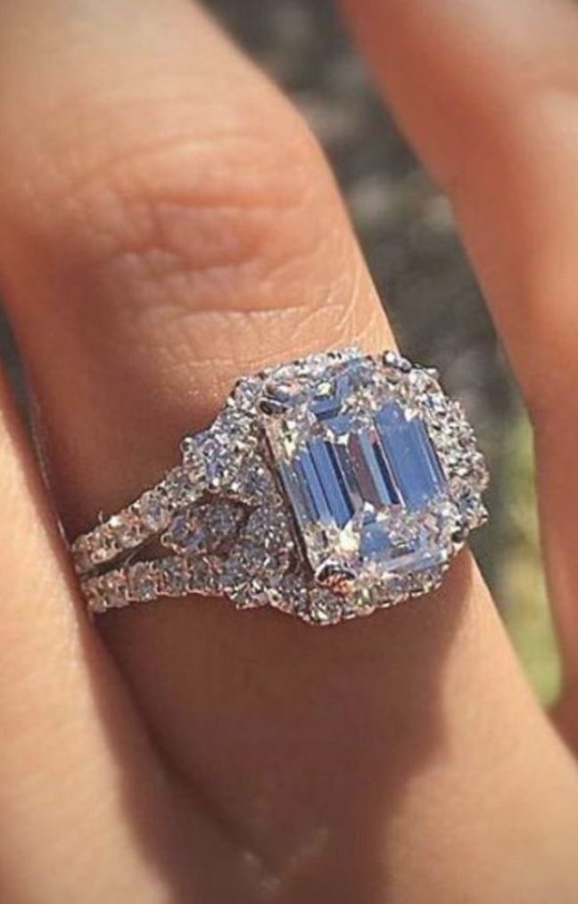 What Is So Fascinating About Princess Cut Engagement Rings Simple Vintage