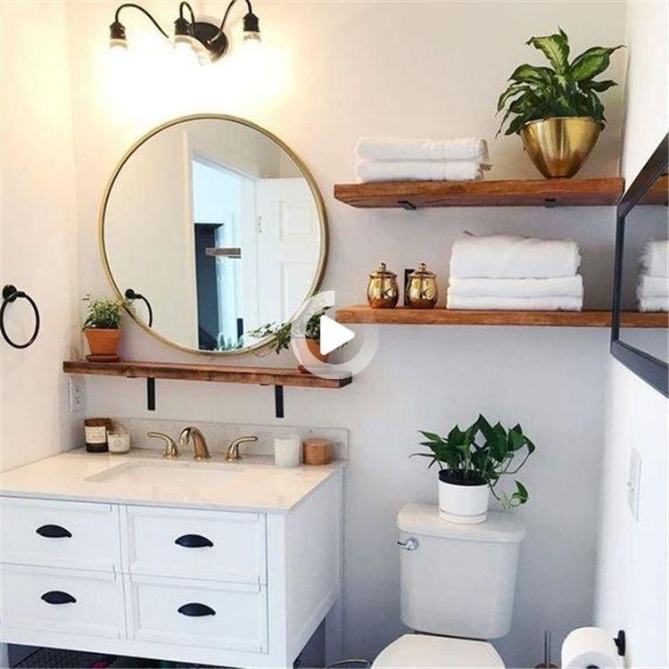 65 Perfect Bathroom Shelf Storage Ideen Fur Ihre Inspiration Seite 17 Von 65 Chic Hostess In 2021 Bathroom Storage Shelves Bathroom Shelves Bathroom Shelf Decor