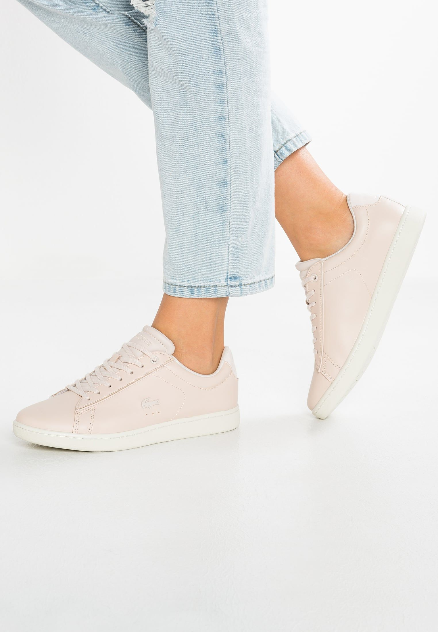 d7be10182 Baskets basses Lacoste CARNABY EVO 417 1 SPW - Baskets basses - light pink  rose