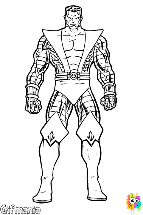 Colossus #colossus #xmen #coloringpage (con imágenes ...