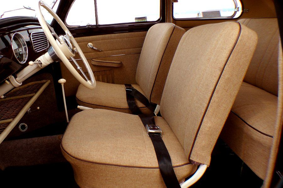 tweed vw bug interior classic vw bugs now offering 3 signature rh pinterest com