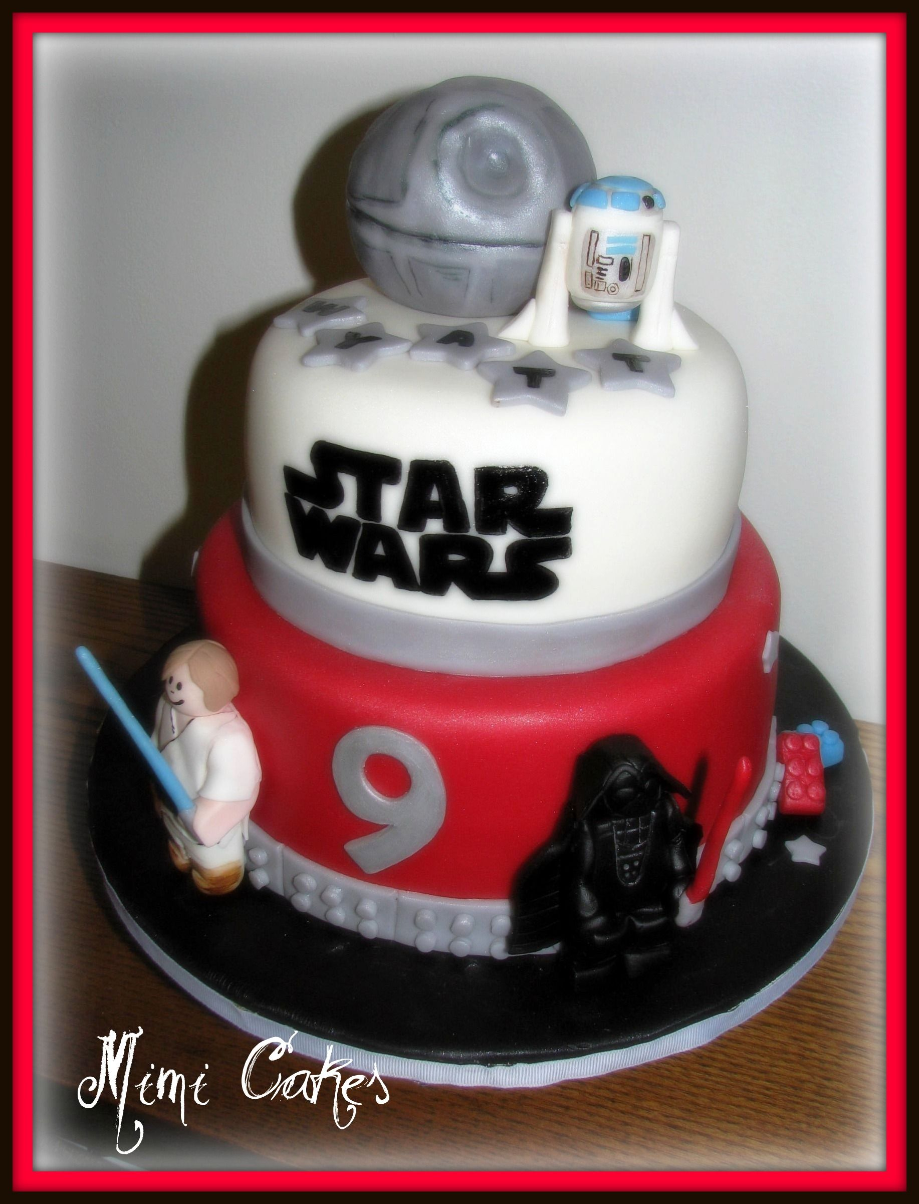 Wyatt Lego Star Wars Made for a young man turning 9 All edible