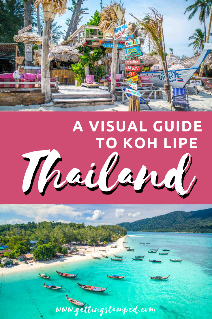 A Visual Guide To Koh Lipe Thailand Aerial Footage Featuring The Best Of Thailand From Resort Bungalows Thailand Travel Destinations Thailand Travel Koh Lipe