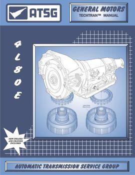 Atsg Tech Manual 4l80e 4l85e 1991 On Gmc Chevy Rebuild Guide Book Mt1 4l80 4l85 Transmission Repair Ford Transmissions Transmission