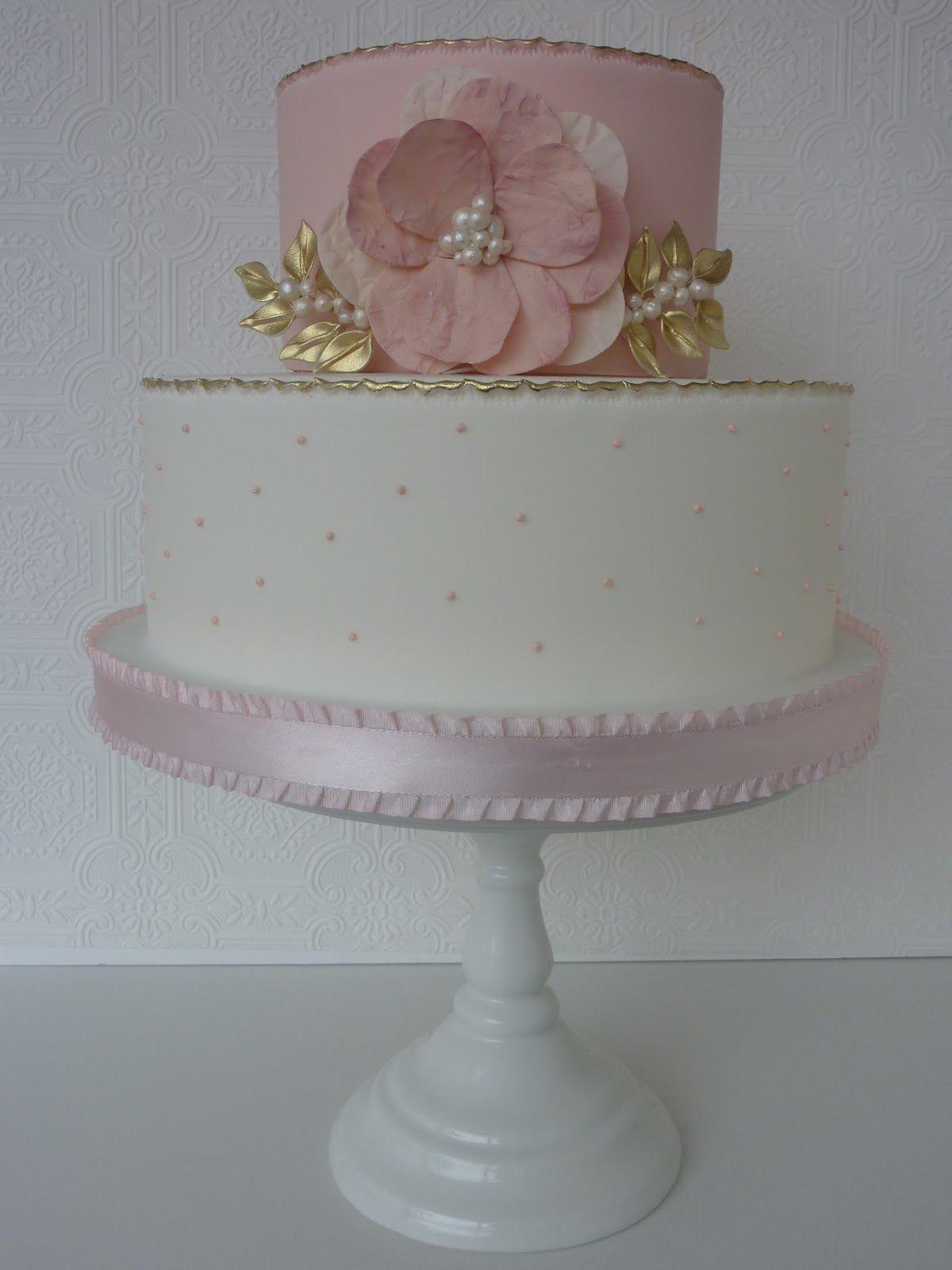 J'Adore Cakes Co.: Baptism Cake