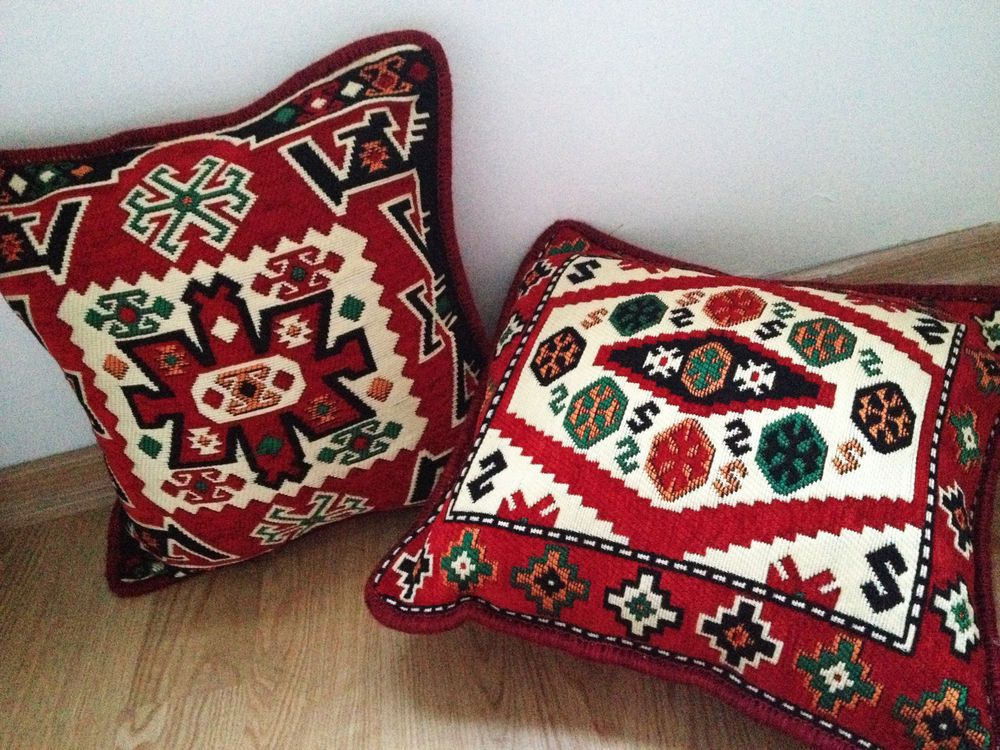 Anatolian Kilim Patterned Pillowcases Ethnic Moroccan Tribal Rustic Decoration #Unbranded