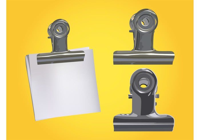 Metal Stationery Clips