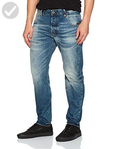 46881a01e36 G-Star Raw Men's Arc 3d Higa Slim Denim Jean, Medium Aged, 32 - Mens world  (*Amazon Partner-Link)