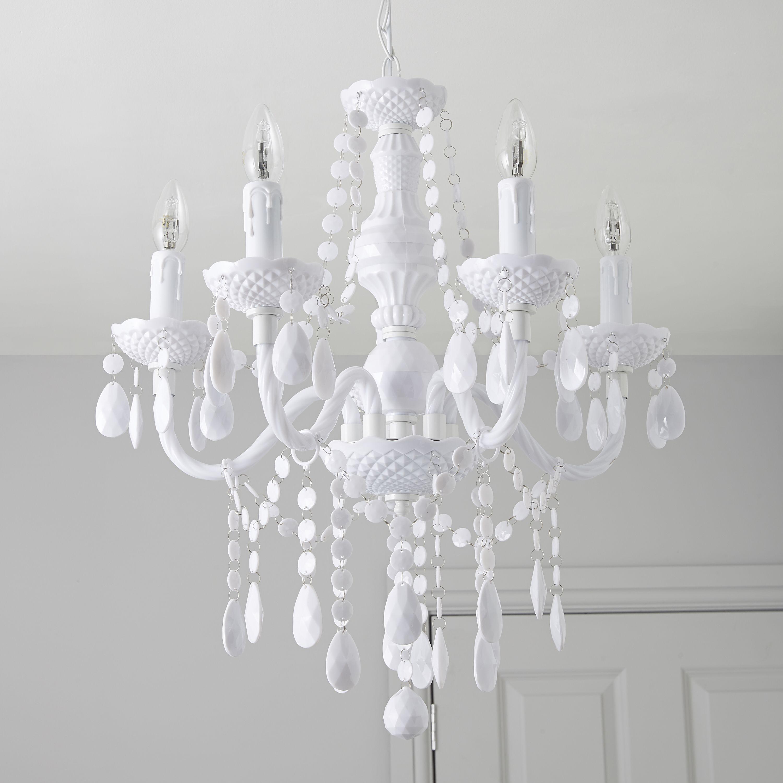 Eva Cream 3 Lamp Ceiling Light Departments Diy At B Q Ceiling Lights Ceiling Lights Diy Lamps Ceiling