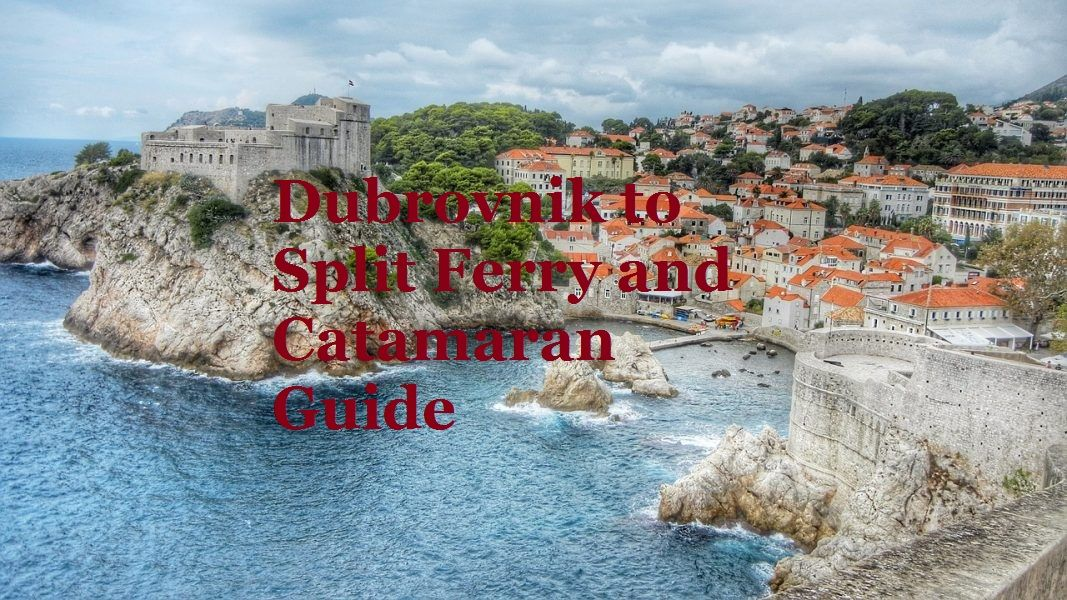 Dubrovnik To Split Ferry And Catamaran 2020 Guide Tourdesksplit Krka Waterfalls Dubrovnik Catamaran