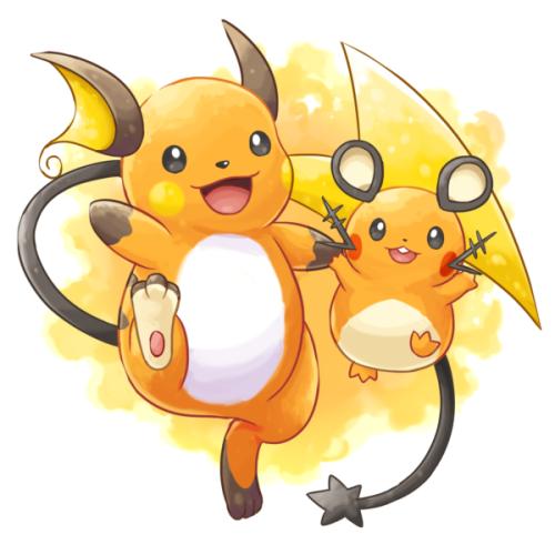 Raichu Dedenne Pokémon